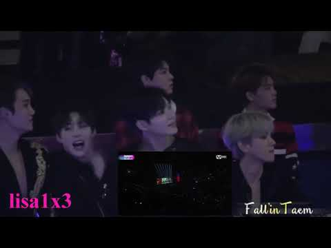 171201 EXO, Taemin, Wanna One, NCT reaction to BTS - Сypher 4, MIC DROP @MAMA 2017