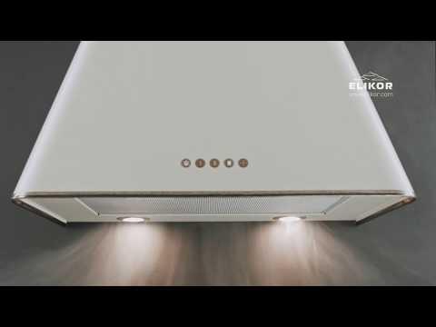 Вытяжка Elikor Гамма 60П-650-Э3Д антрацит/серебро