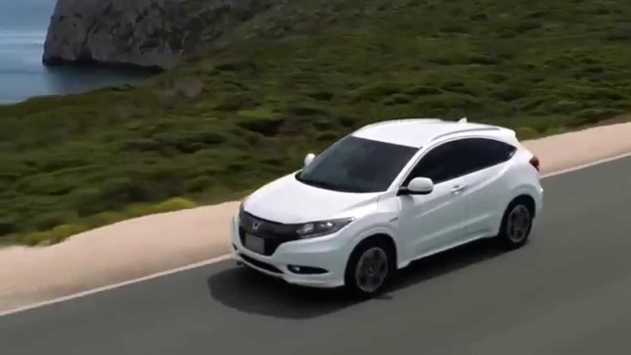 honda vezel hybrid compact suv car honda hybrid car youtube. Black Bedroom Furniture Sets. Home Design Ideas