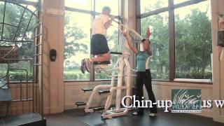 Wildcat Fitness Machine 16: Nautilus Gravitron Machine