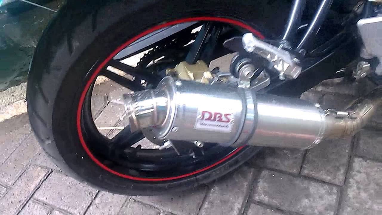 Dbs Thailand New Vixion Lightning Knalpot R9 Assen Kawasaki Bajaj Pulsar 200ns Full System