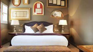 Fascinating 18th Century Parisian Interiors  La Maison Favart Hotel [HD]