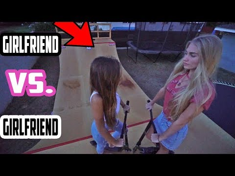 GIRLFRIENDS GAME OF SCOOT! *Taylor VS Elissa*