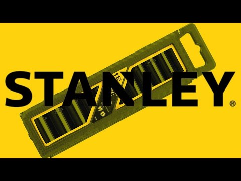 Stanley 97-125 11 Piece 1//2-Inch Drive SAE Deep Impact Socket Set