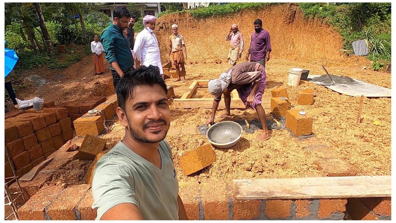 വീട് പണി എന്തായി എന്ന് കാണാം/ My House construction