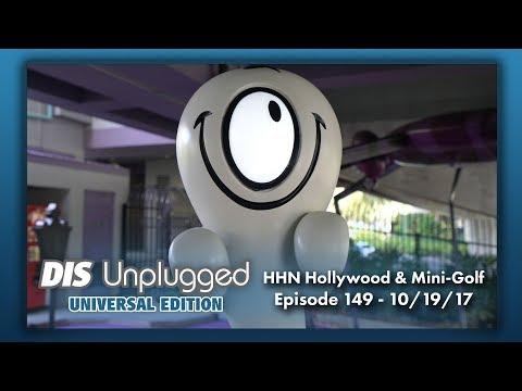 HHN Hollywood & Haunted Mini-Golfing | Universal Edition | 10/19/17