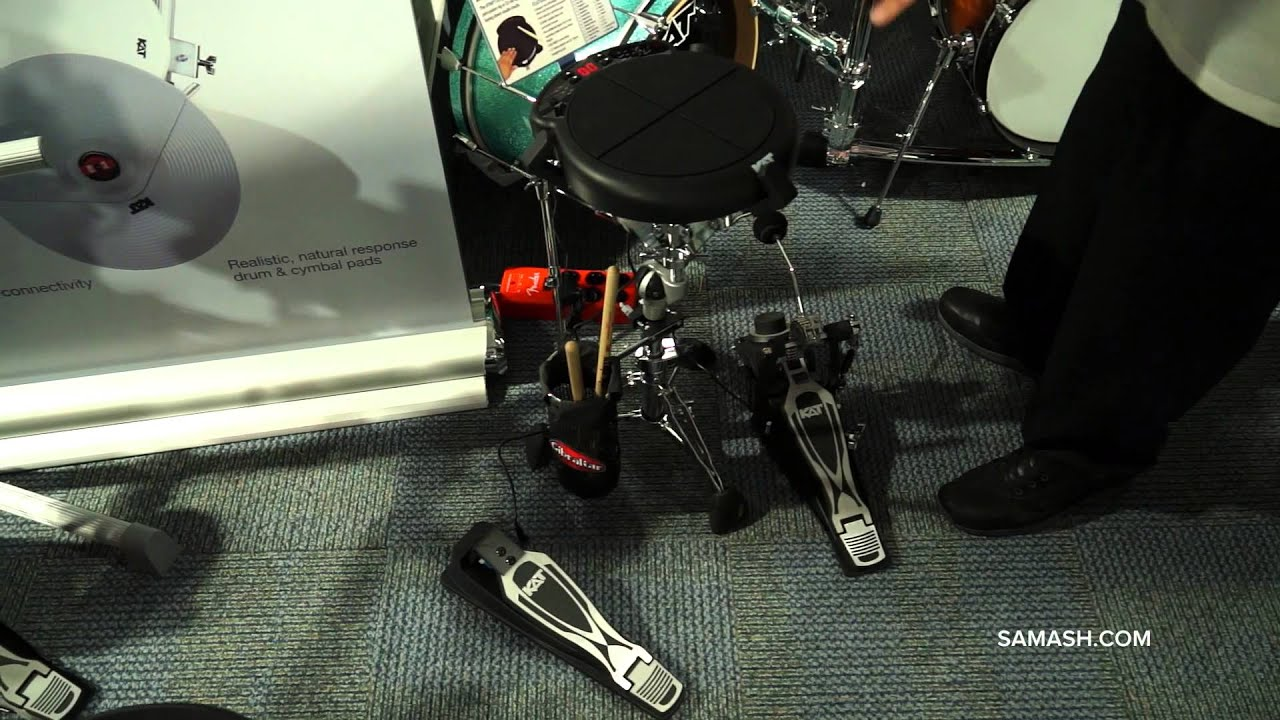 Inside NAMM 2014 | Kat Percussion KTMP1 Multipad