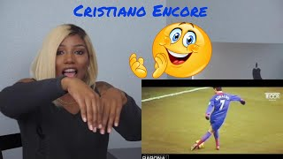 Clueless new American sports fan reacts to Cristiano Ronaldo, The Man Who Can Do Everything