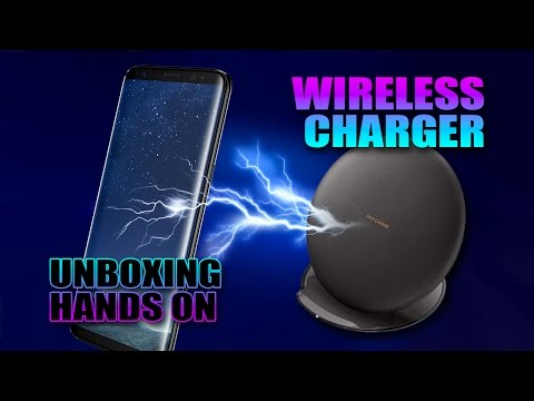Samsung Wireless Charger Unboxing/Hands on ((PT))