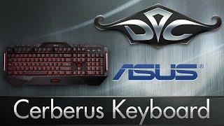 Обзор ASUS Cerberus Keyboard.