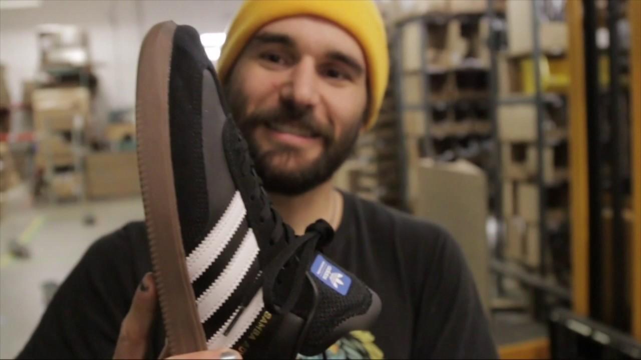 Adidas Samba ADV  600 Skateboard Trick Wear Test - YouTube 1e0bbd693