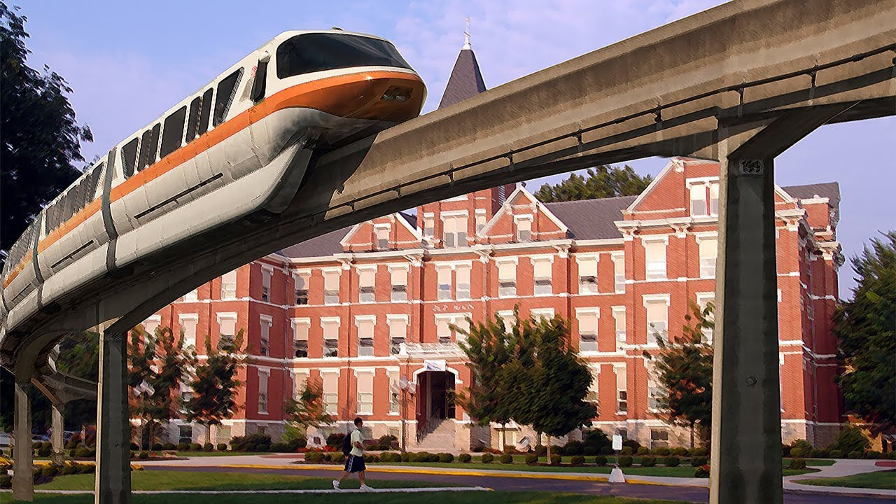 The University of Findlay - Who Wouldn't Want a Monorail?!