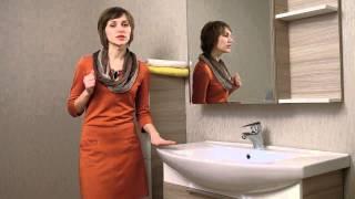 Обзор мебели для ванной Sofia Nova Ювента