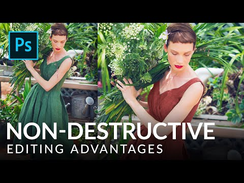 What is Non-Destructive Editing? | Photoshop Tutorial | PHLEARN thumbnail