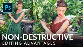 What is Non-Destructive Editing? | Photoshop Tutorial | PHLEARN