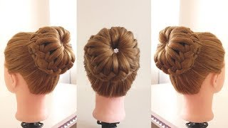 How To: Bun Hairstyle for WEDDING and PARTY || Trending hairstyle || Party hairstyle