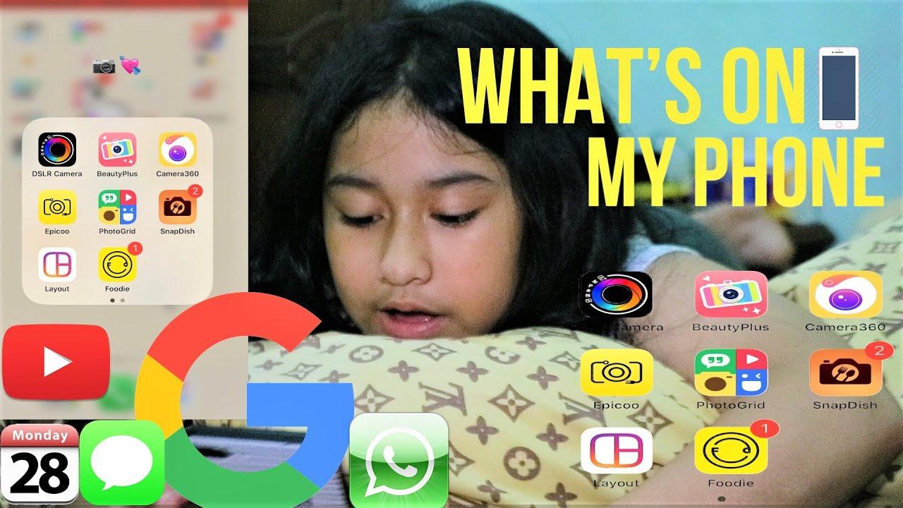 What's On My Phone !!! | Apa Aja Aplikasi Di Iphone 7 ...