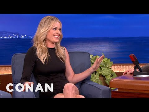 Rebecca Romijn Gets Mistaken For A High Class Hooker - CONAN on TBS