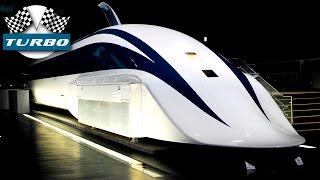Поезда быстрее самолета! Самые быстрые поезда в мире!(Самые быстрые поезда в мире. На магнитной подвеске и колесах. 10. Transrapid 06 9. Aerotrain I80HV 8. MLU002N 7. Shinkansen 6. Transrapid..., 2016-08-09T15:00:01.000Z)