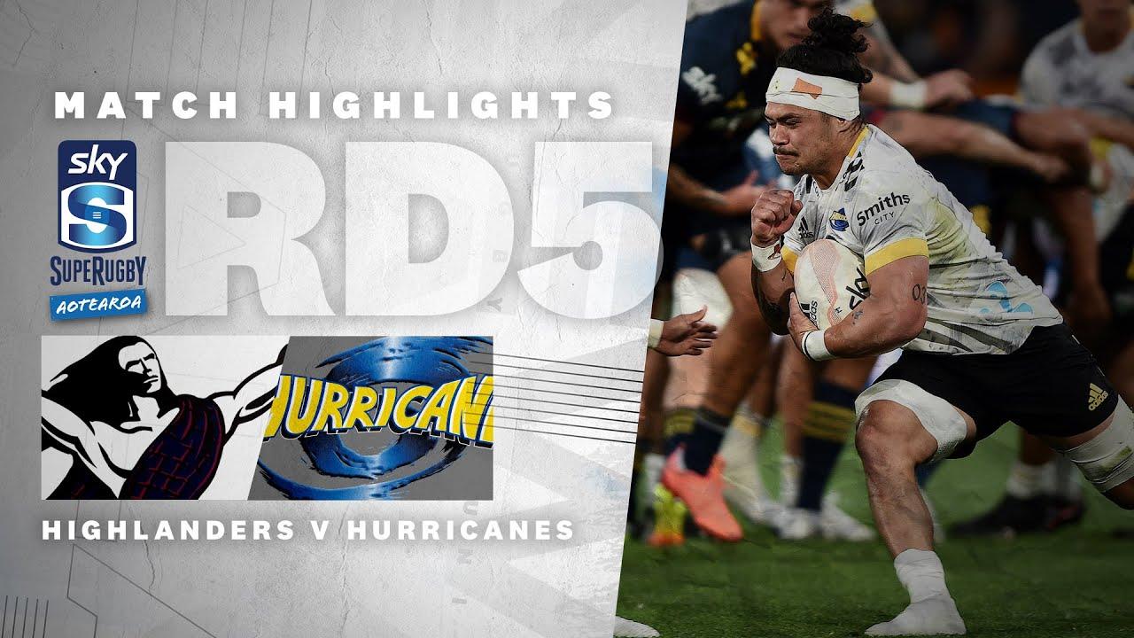 ROUND 5: Highlanders – Hurricanes (Sky Super Rugby Aotearoa – 2021) – All Blacks