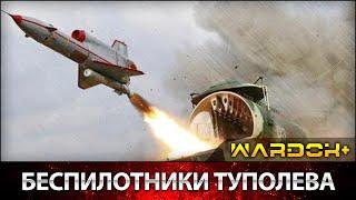 Уникальные беспилотники Туполева   Unique drones Tupolev / WARDOK+