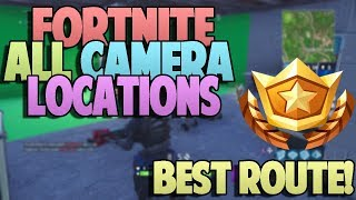 ALL FORTNITE FILM CAMERA LOCATIONS - BEST/FAST CAMERA ROUTE - Battle Pass Week 2 Challenge Tutorial!