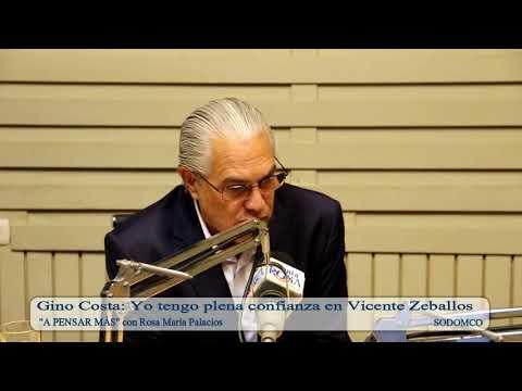 Gino Costa: Yo tengo plena confianza en Vicente Zeballos