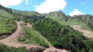 ВПЕРЕД! К вершине 2320 метров. Красная Поляна, Сочи. SOCHI RUSSIA(От