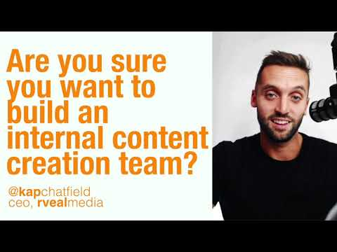 Are you sure you want to build an internal content creation team?