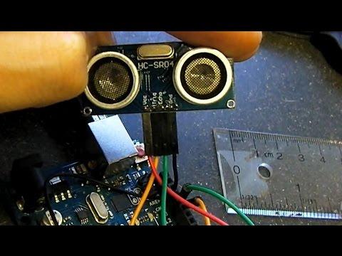 How To Connect HC-SR04 Range Finder Ultrasonic Sensor [Arduino Tutorial]