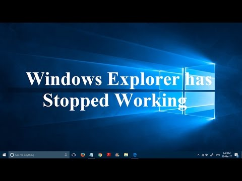 Fix Windows Explorer Has Stopped Working In Windows Simple Steps