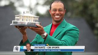 Jim Nantz' Great Moments in Sports: Nothing Tops Tiger | The Rich Eisen Show | 4/18/19
