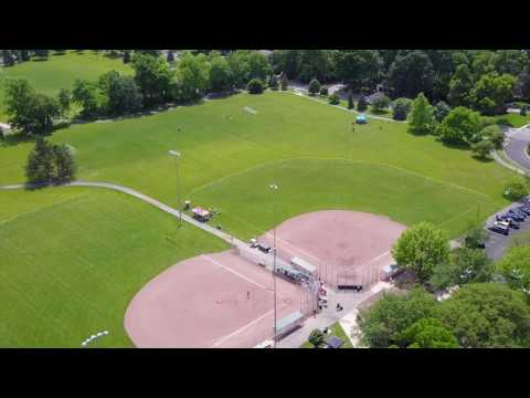 Thompson Park Upper Arlington Ohio Drone Footage