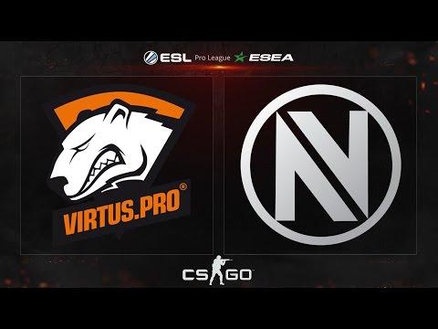 CS:GO - Virtus.Pro vs. EnVyUS [Cache] - ESL ESEA Pro League Dubai Invitational - Group A