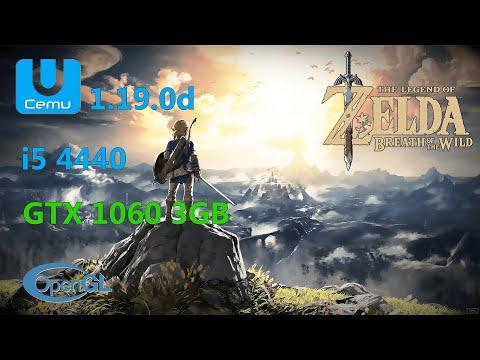 Cemu 1.19.0d Zelda