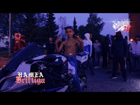 Hamza ft Omar X - Driftiga (officiell video) | @hamzaa.dg prod @mattecaliste