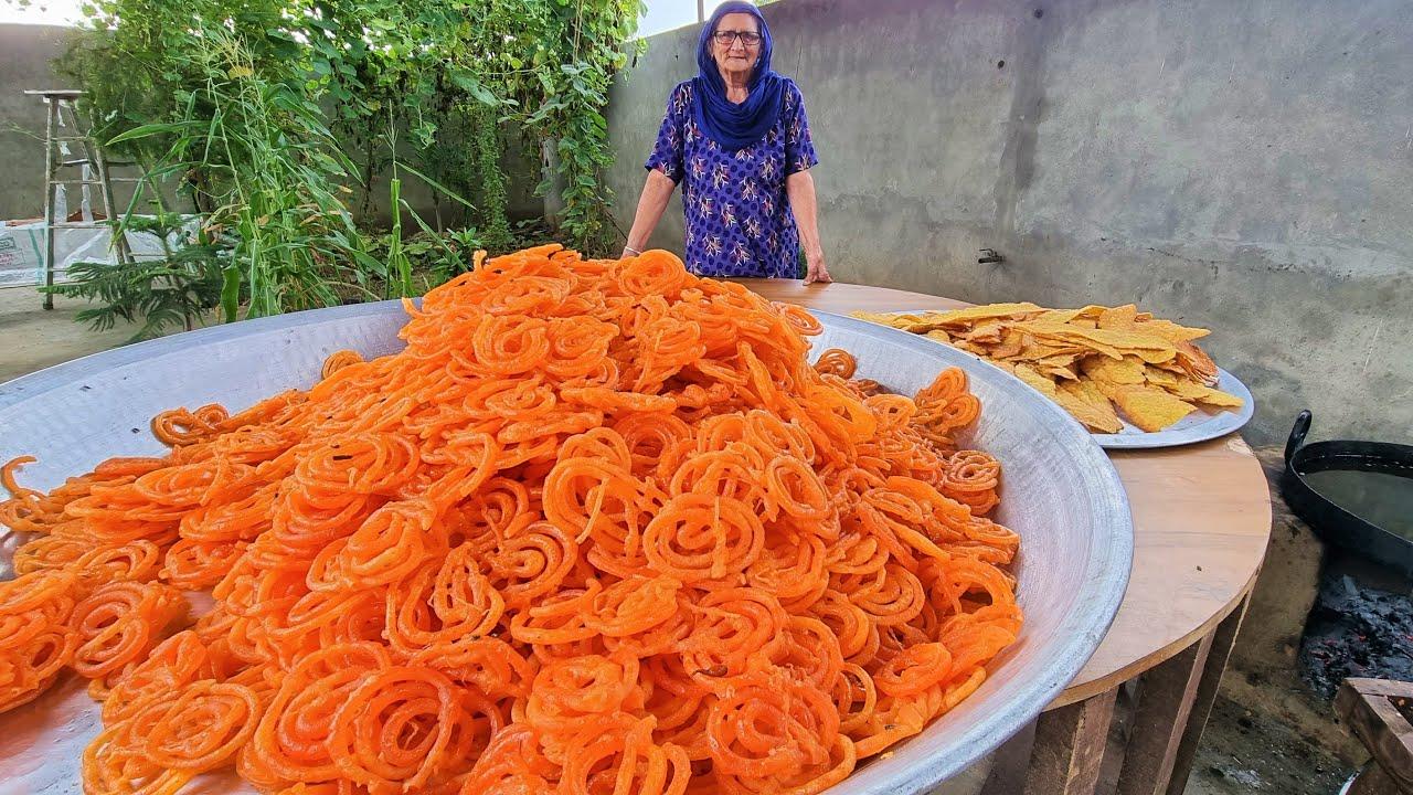 FAFDA JALEBI RECIPE | GUJRATI FAFDA RECIPE | INDIAN STREET FOOD | DESSERT RECIPE