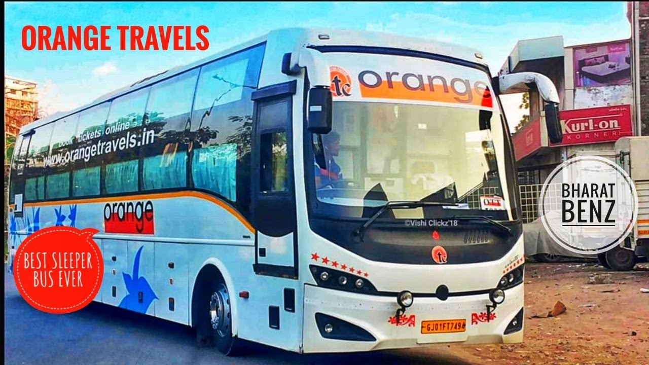 Orange Travels Bharat Benz A C Sleeper Chennai To Rameshwaram