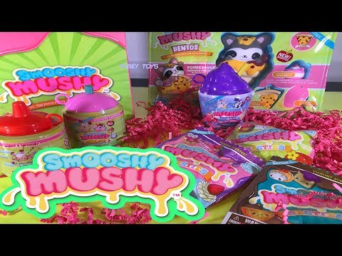 Squishy HAUL Smooshy Mushy Squishies at Walmart Lots of Slow Rise Squishy, Scented Treats TUBEY TOYS