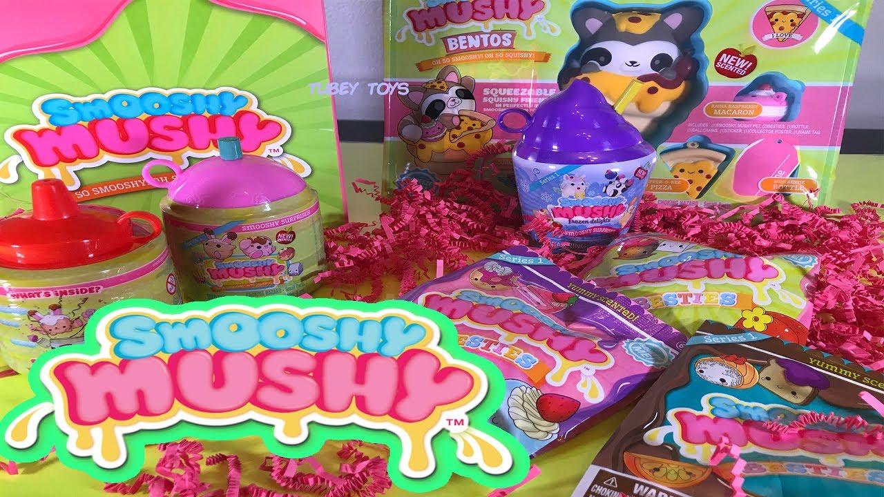 Squishy Mushy Squishies : Squishy HAUL Smooshy Mushy Squishies at Walmart Lots of Slow Rise Squishy, Scented Treats TUBEY ...