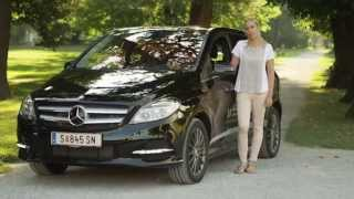 ElectroDrive Salzburg testet die Mercedes B-Klasse Electric Drive