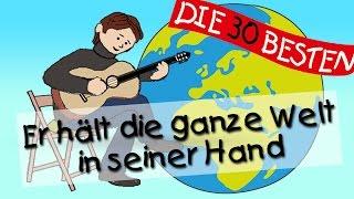 Er hält die ganze Welt - Die besten Kirchenlieder für Kinder || Kinderlieder thumbnail
