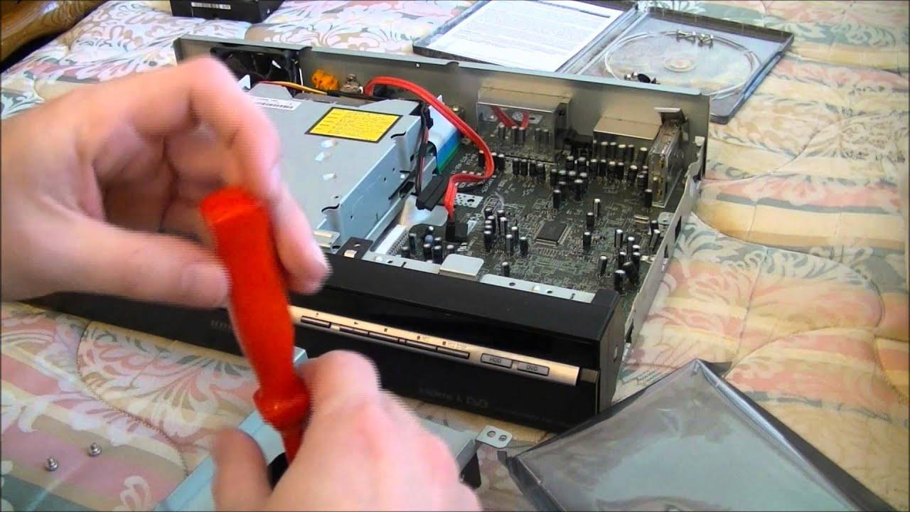 sony rdr hxd970 hard drive upgrade youtube rh youtube com Frigidaire Electrolux Refrigerator Manual sony rdr-hxd970 service manual