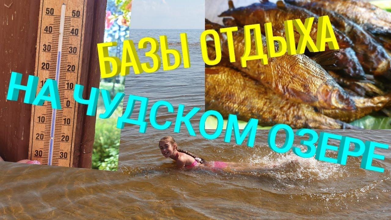 Базы Отдыха на Чудском Озере