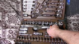 набор инструмента Ombra OMT82S покупка в местном интернет магазине(Набор инструмента торцевые головки 4-32 мм 1/4