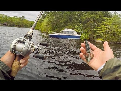 The Most SUGGESTED LAKE To Fish In The Country || 50 State Fishing Tour (RI & CT)