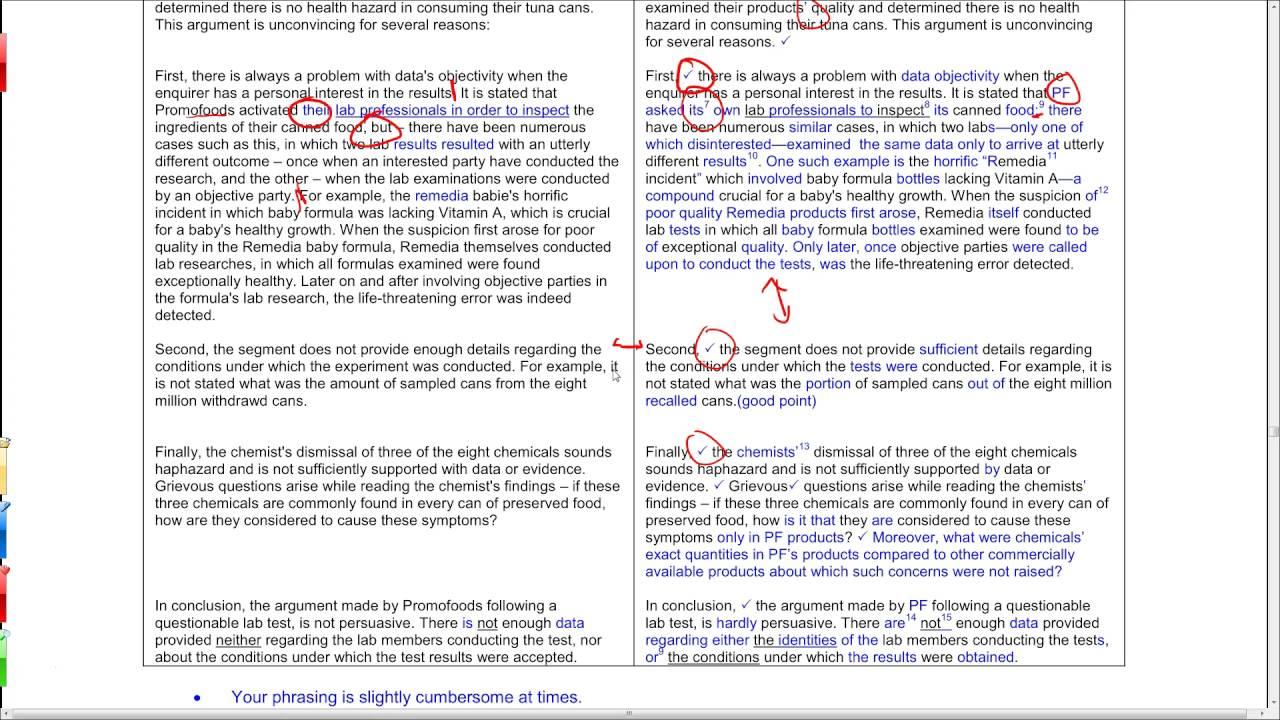Analytical essay sample