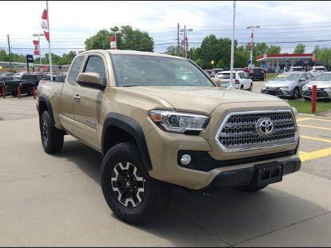 New 2017 Toyota Tacoma Trd Offroad Access Cab Review Quicksand 1000 Islands Brockville