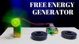 Super 100% Free Energy Generator Using Powerful Magnet - 100% Free Energy Power