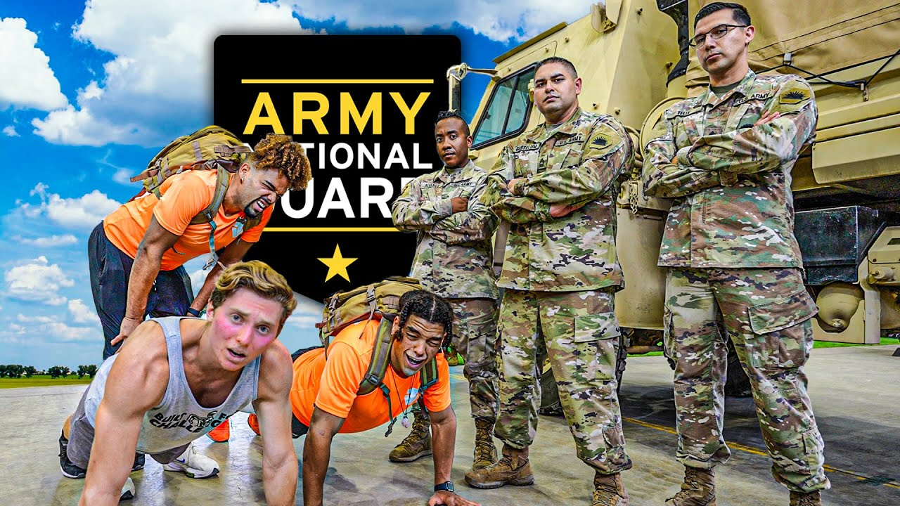 FITNESS INFLUENCERS VS. US ARMY (Who Is Stronger?)